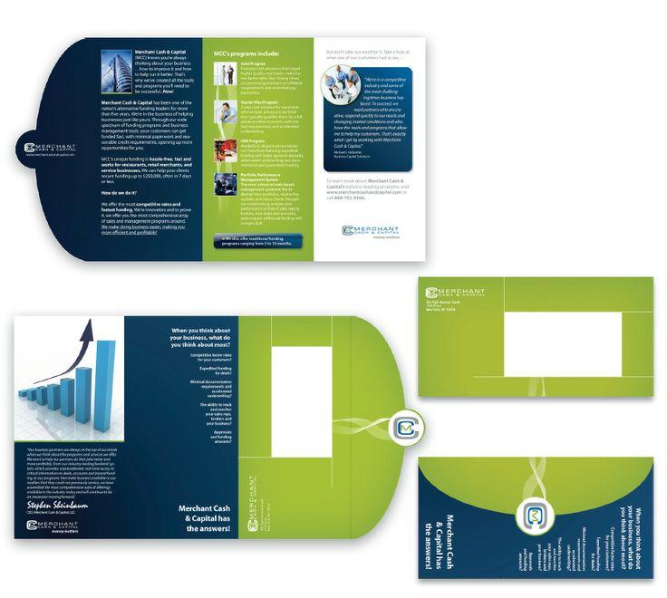 brochure mailer design in cart marketing