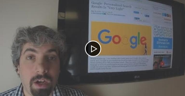 SEO Video Recap with Barry Schwartz